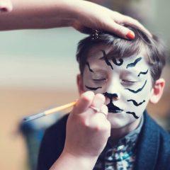 Dynamique Kids Animal Face Painting Party Nottingham